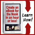 Create a Nook Ebook Fast