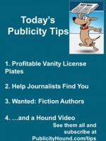 Publicity Tips–Profitable Vanity License Plates