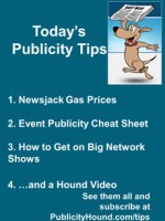 Publicity Tips–Newsjack Gas Prices