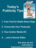 Publicity Tips–Free Tool for Radio Show Gigs