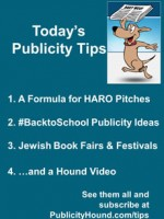 Publicity Tips–A Formula for HARO Pitches