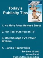 Publicity Tips–No More Press Release Stress