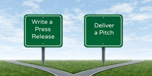 Press release vs. a pitch4