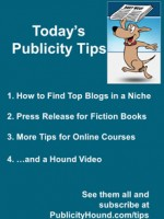 Publicity Tips–How to Find Top Blogs in a Niche