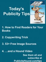 Publicity Tips–How to Find Readers for Your Books