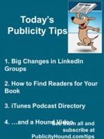 Publicity Tips–Big Changes in LinkedIn Groups