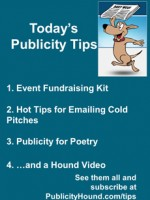 Publicity Tips–Event Fundraising Kit