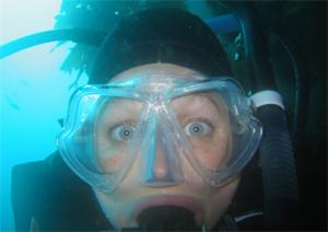 Joanna Penn Scuba Dives