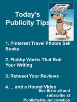 Publicity Tips–Pinterest Travel Photos Sell Books