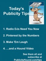 Publicity Tips–Radio DJs Need You Now