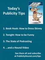 Publicity Tips–Book Hook: How to Dress Skinny