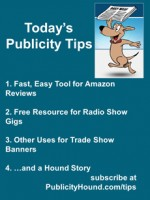 Publicity Tips–Fast, Easy Tool for Amazon Reviews