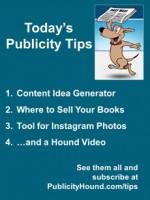 Publicity Tips–Content Idea Generator