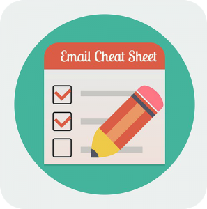 email cheat sheet