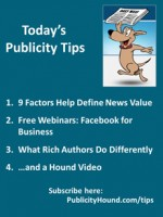 Publicity Tips–9 Factors Help Define News Value