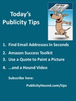 Publicity Tips–Find Email Addresses in Seconds