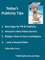 Publicity Tips–Best Apps for PR & Publicity