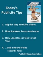 Publicity Tips–App for Easy YouTube Videos