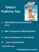 Publicity Tips–128 Words to Use Instead of 'Very'