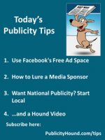 Publicity Tips–Use Facebook's Free Ad Space