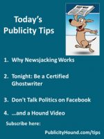 Publicity Tips–Why Newsjacking Works