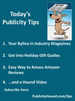 Publicity Tips–Your Byline in Industry Magazines