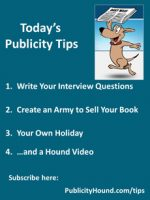 Publicity Tips–Write Your Interview Questions