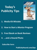 Publicity Tips–Media Kit Mistake