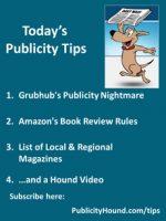 Publicity Tips–Grubhub's Publicity Nightmare