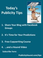 Publicity Tips–Share Your Blog with Facebook Groups