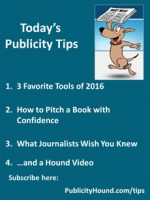 Publicity Tips–3 Favorite Tools of 2016
