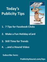 Publicity Tips–7 Tips for Facebook Clicks