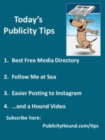 Publicity Tips–Best Free Media Directory