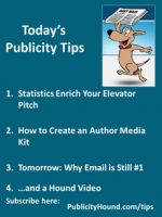 Publicity Tips–Statistics Enrich Your Elevator Pitch