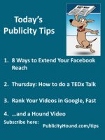 Publicity Tips–8 Ways to Extend Your Facebook Reach