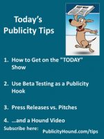 "Publicity Tips–How to Get on the ""TODAY"" Show"