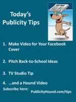 Publicity Tips–Make Video for Your Facebook Cover