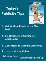 Publicity Tips–Get 3X More Readers for a Blog Post