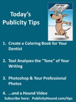 Publicity Tips–Create a Coloring Book for Your Dentist