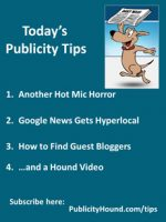 Publicity Tips–Another Hot Mic Horror