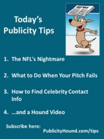 Publicity Tips–The NFL's Nightmare