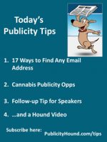 Publicity Tips–17 Ways to Find Any Email Address