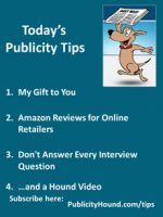 Publicity Tips–My Gift to You