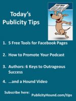 Publicity Tips–5 Free Tools for Facebook Pages