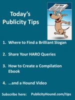 Publicity Tips–Where to Find a Brilliant Slogan