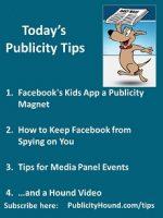 Publicity Tips–Facebook's Kids App a Publicity Magnet