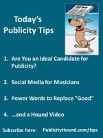 Publicity Tips–Are You an Ideal Candidate for Publicity?