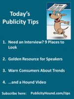 Publicity Tips–Need an Interview? 9 Places to Look