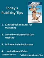 Publicity Tips–12 Facebook Features for Marketing