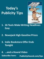 Publicity Tips–26 Tools Make Writing Headlines Easy